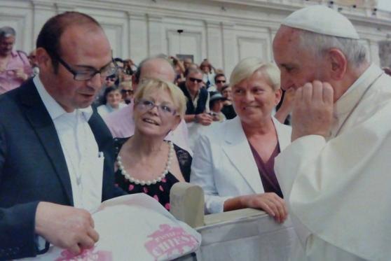 Papa Francesco festeggia il compleanno con la pasta made in Livorno