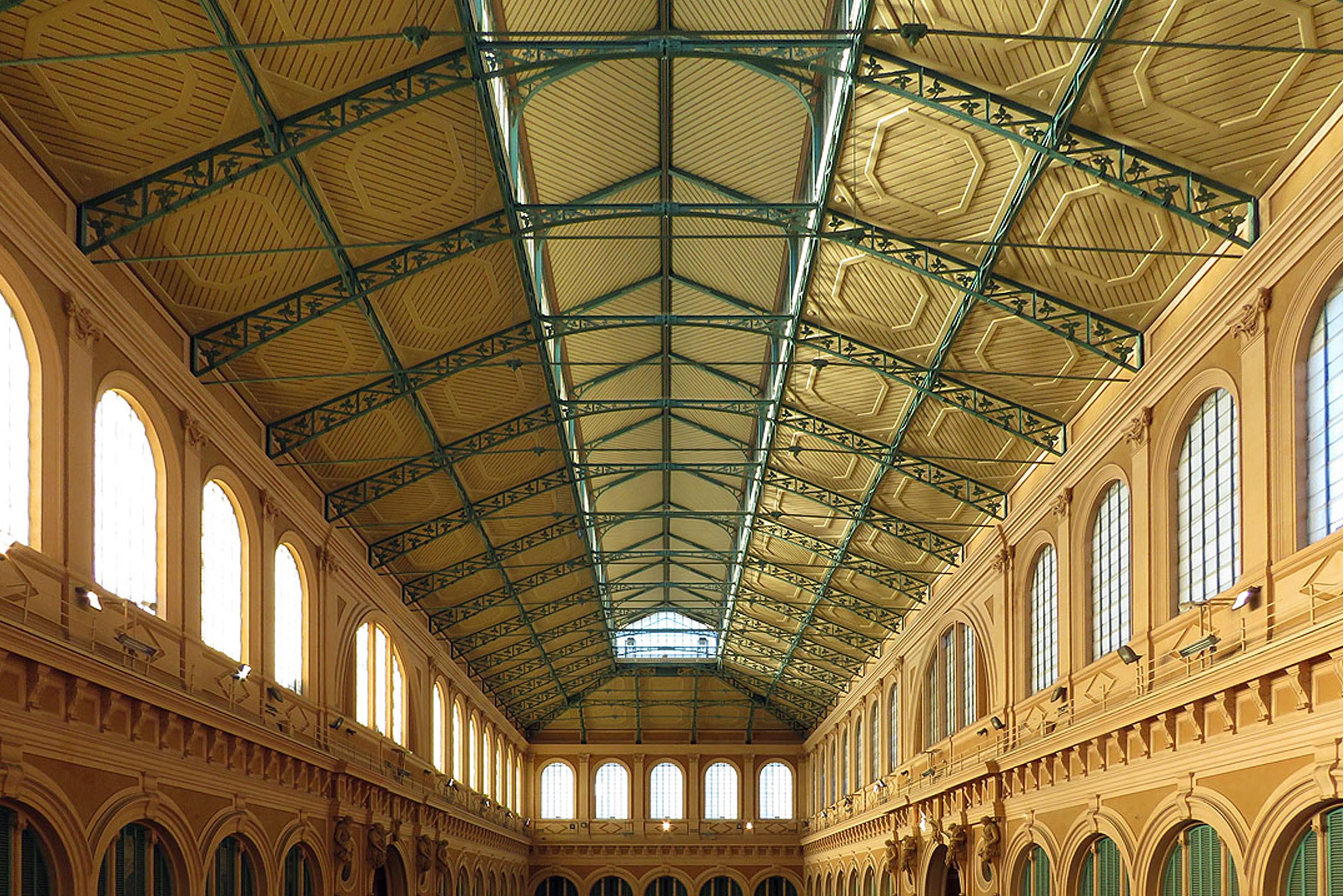 mercato delle vettovaglie di livorno - pastificio valerio chiesa - the king gold