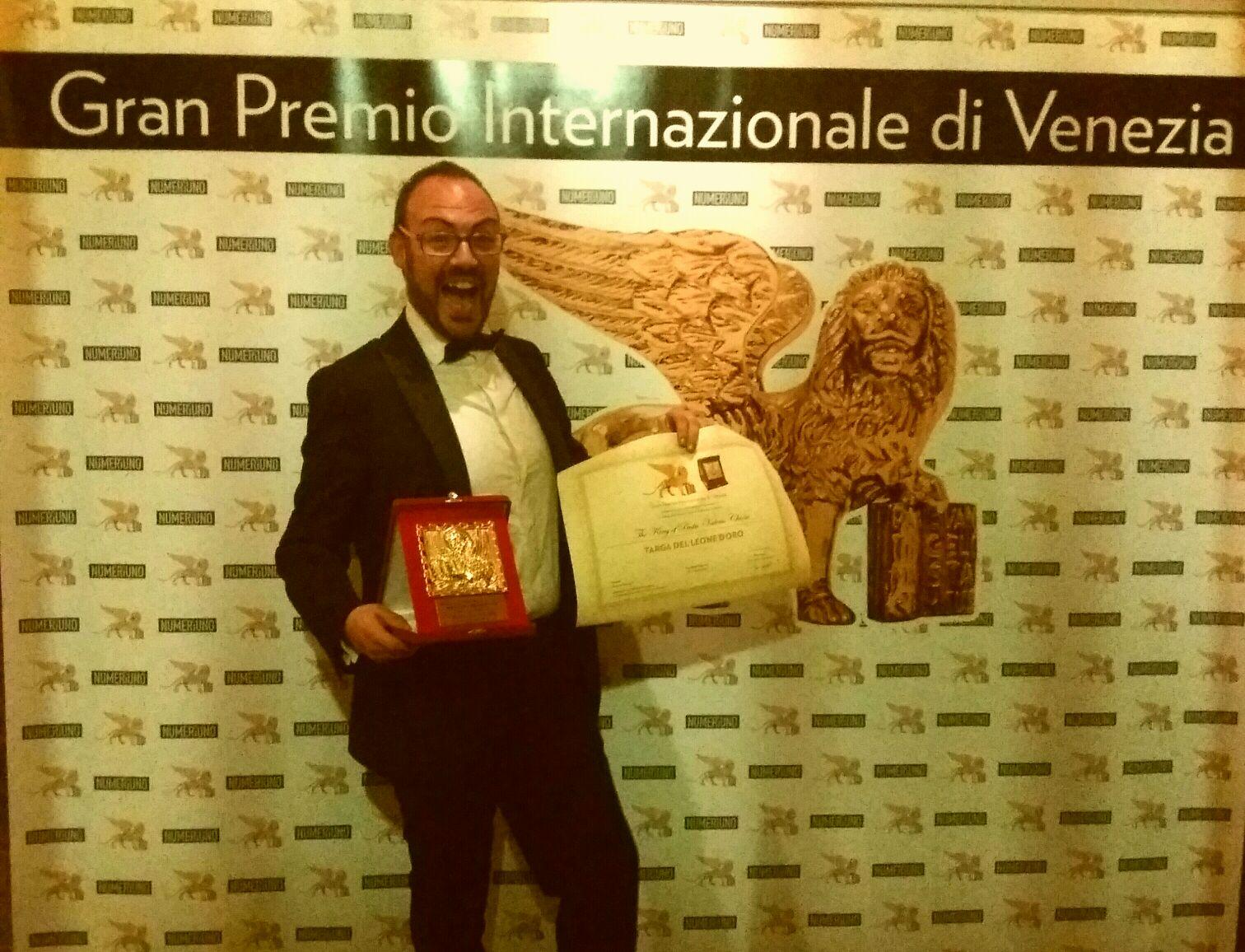 gran premio internazionale di venezia leone d'oro pastificio valerio Chiesa